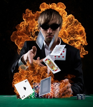 Virtual Live Blackjack in 3D